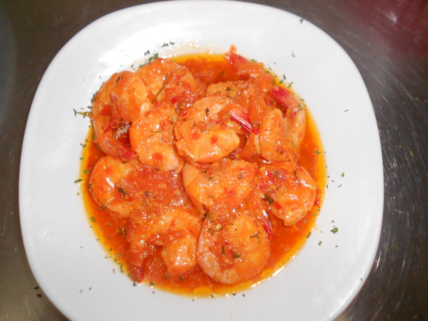 Shrimp Mozambique Appetizer